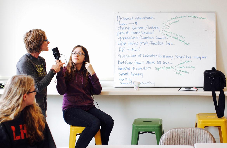 Lanesboro, MI, Youth Access Grant Project, 2015 - photo by Erin Dorbin