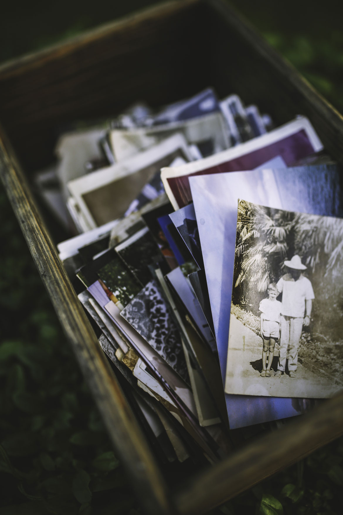 Stock photo of old photos