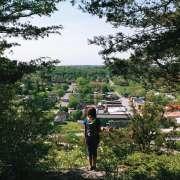 Looking over Lanesboro