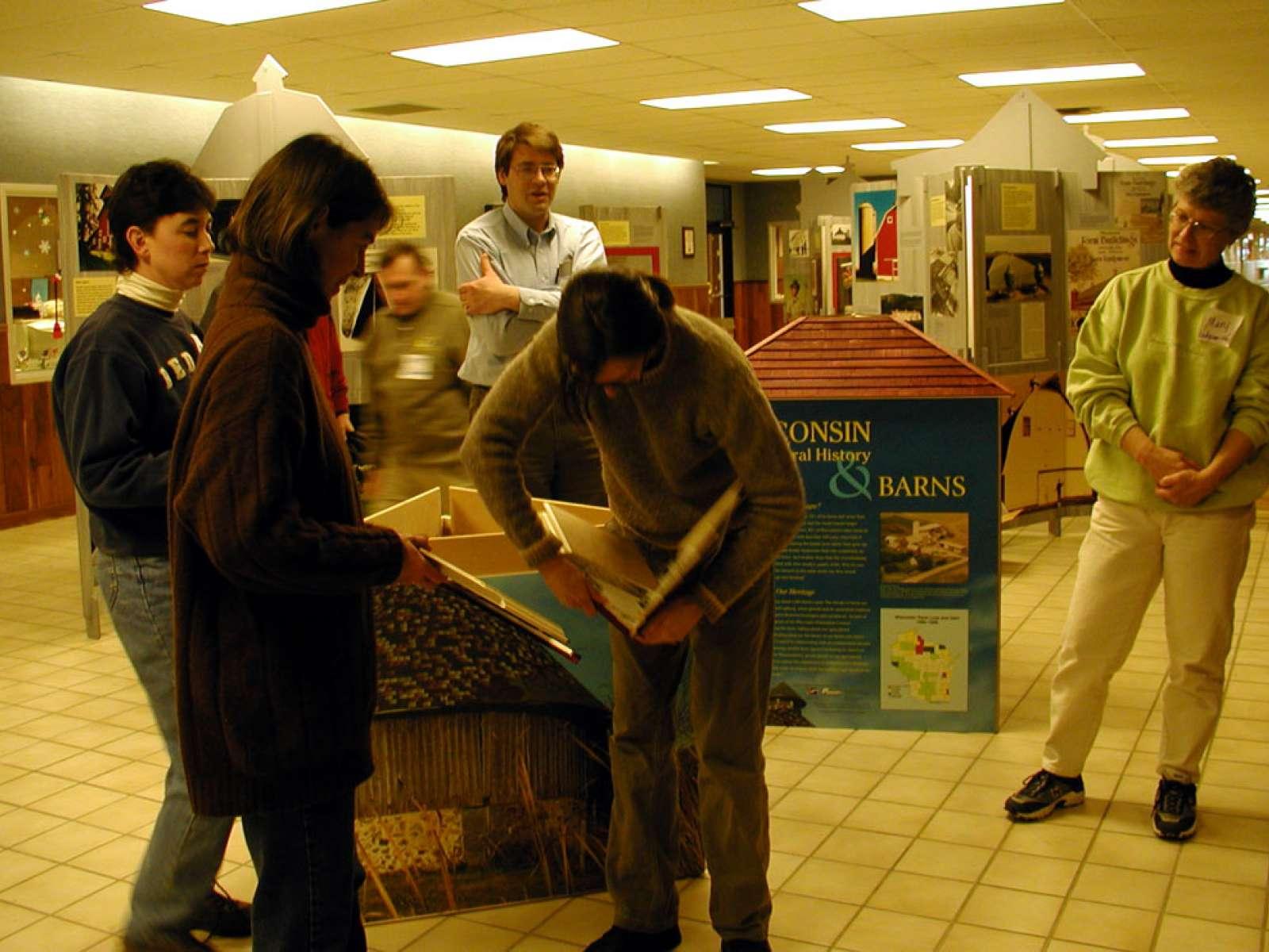 Barn Again Wisconsin Exhibition Installation