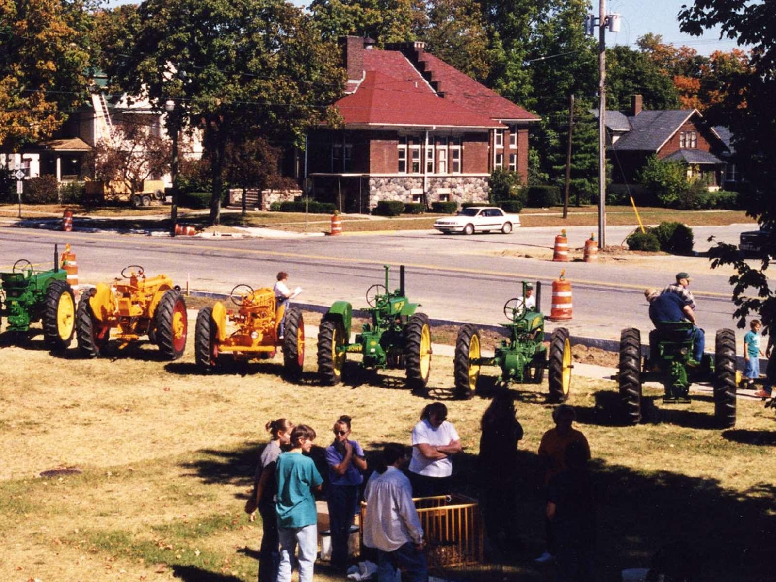 Barn Again Charlotte, Michigan Farm Day Tractors