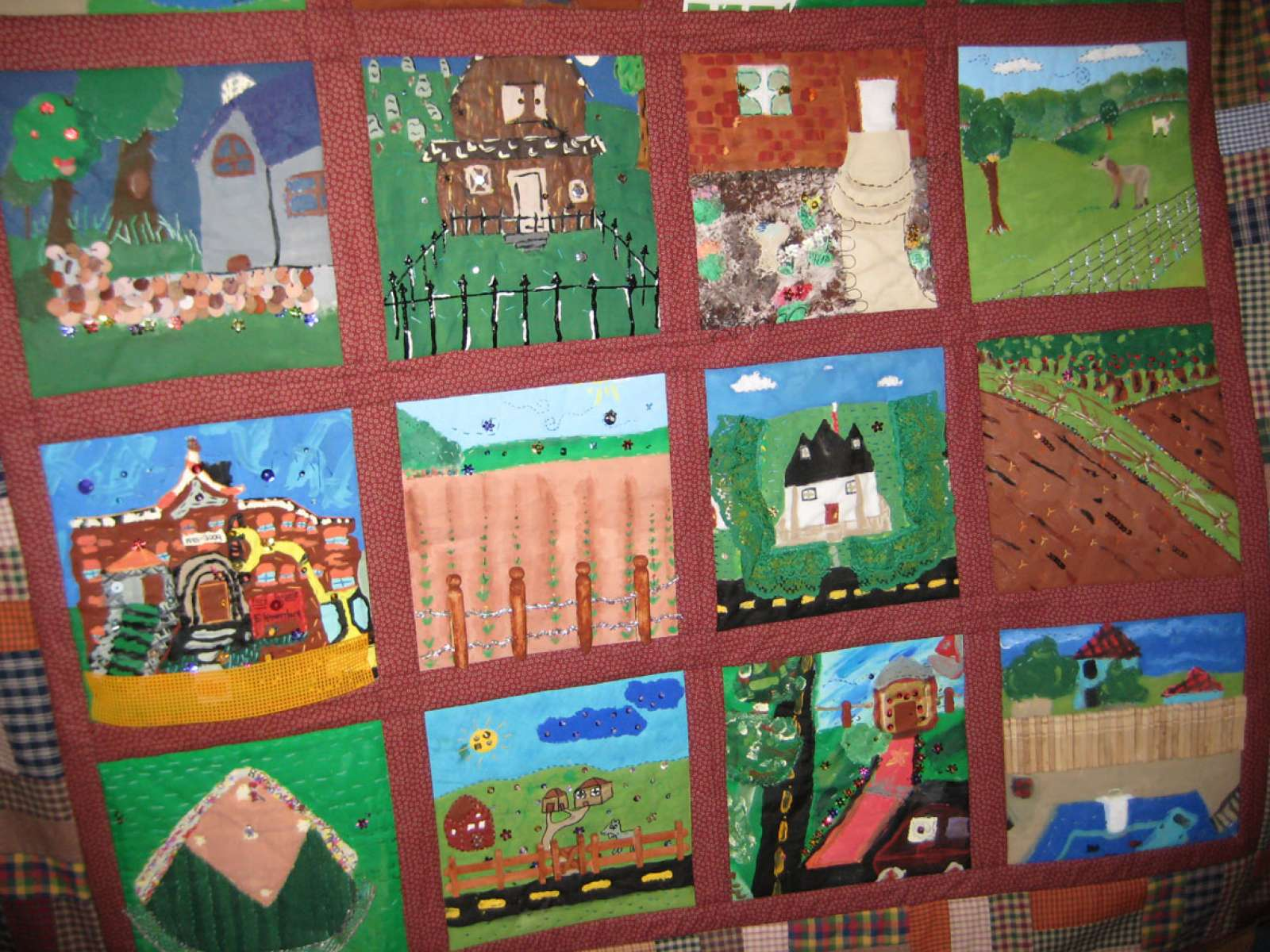 Between Fences Sidney 2009 Sidney BF 3rd graders quilt
