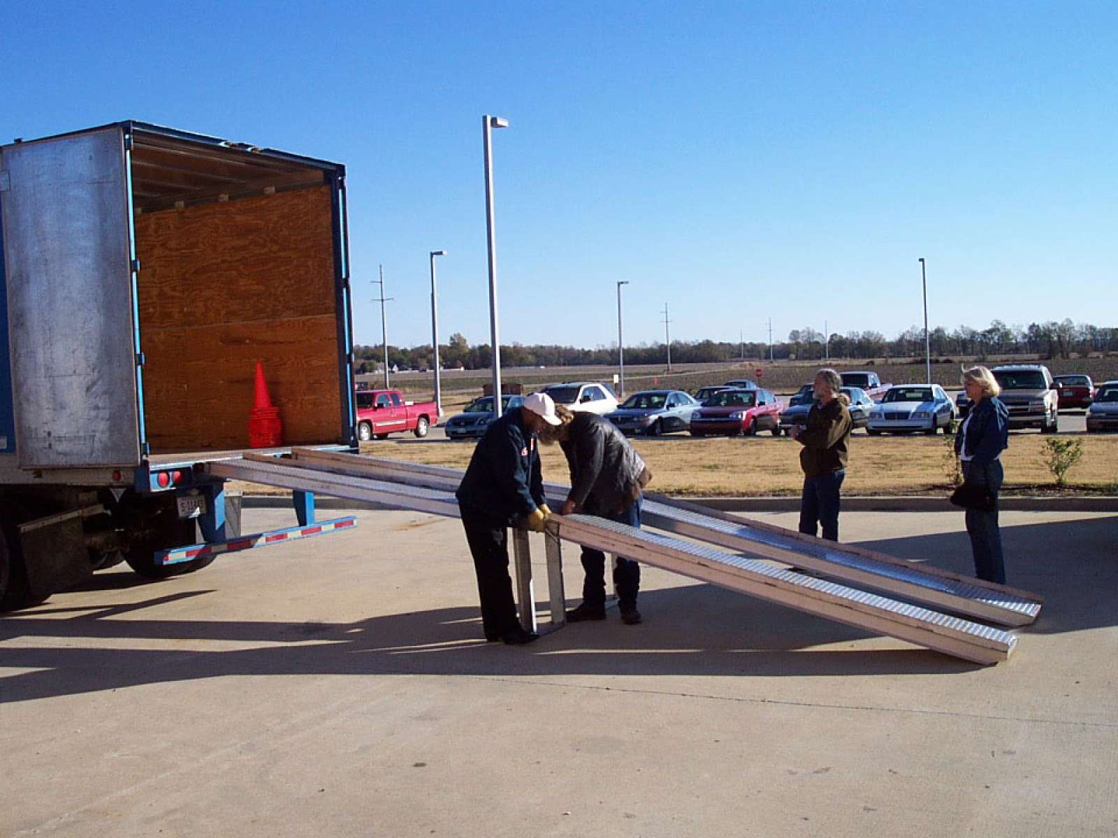 Between Fences Departure 11-29-2005 Greenville, Mississippi