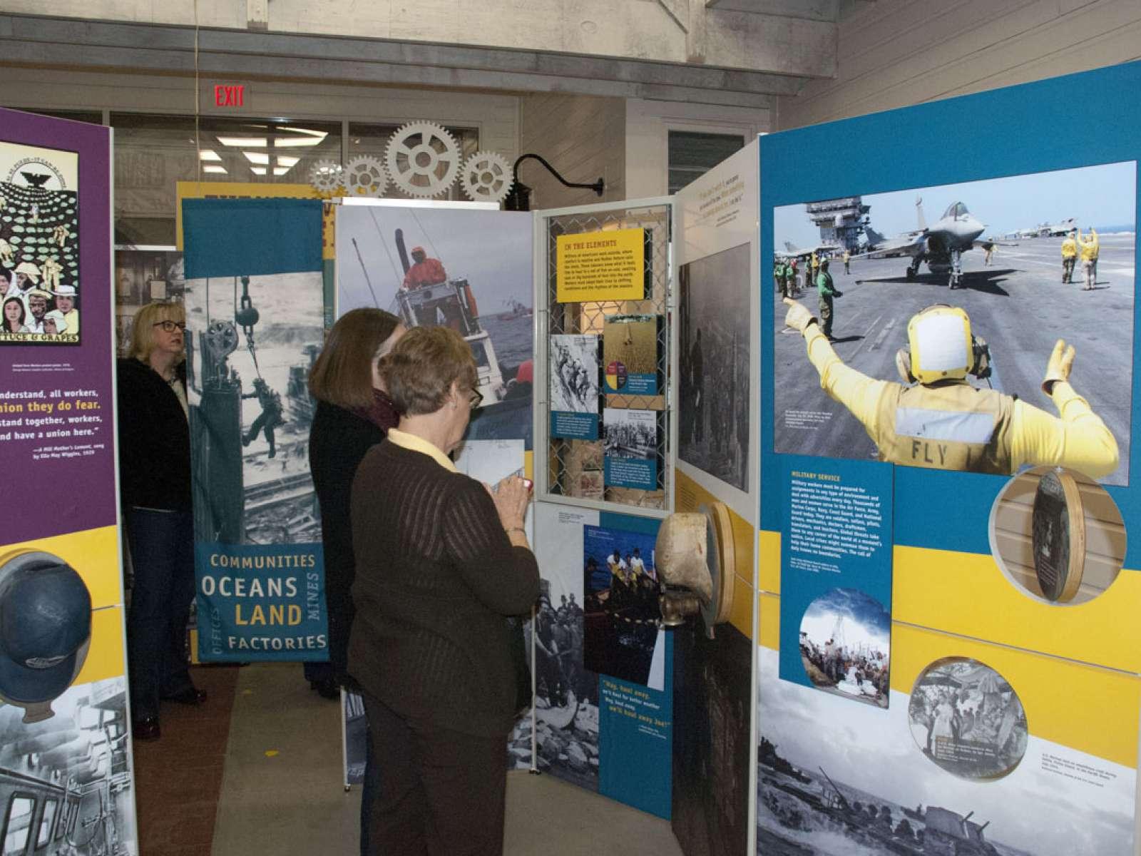 The Way We Worked: Lumberyard Arts Center, Baldwin City