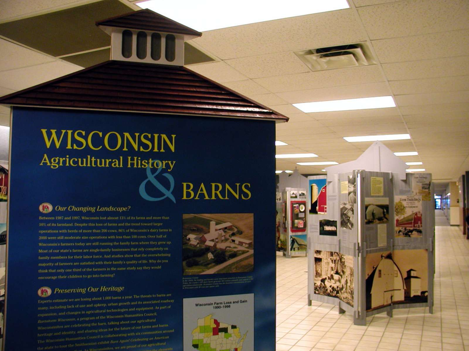 Wisconsin Exhibition Installation