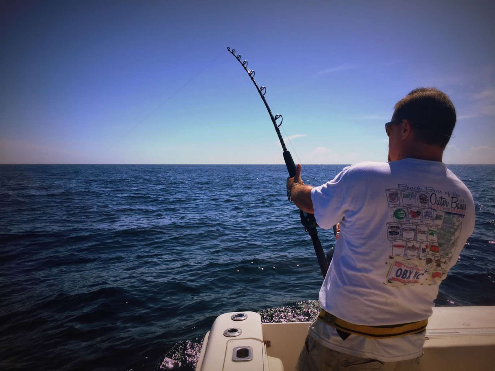 Dave Foster from Suffolk, Virginia fishing