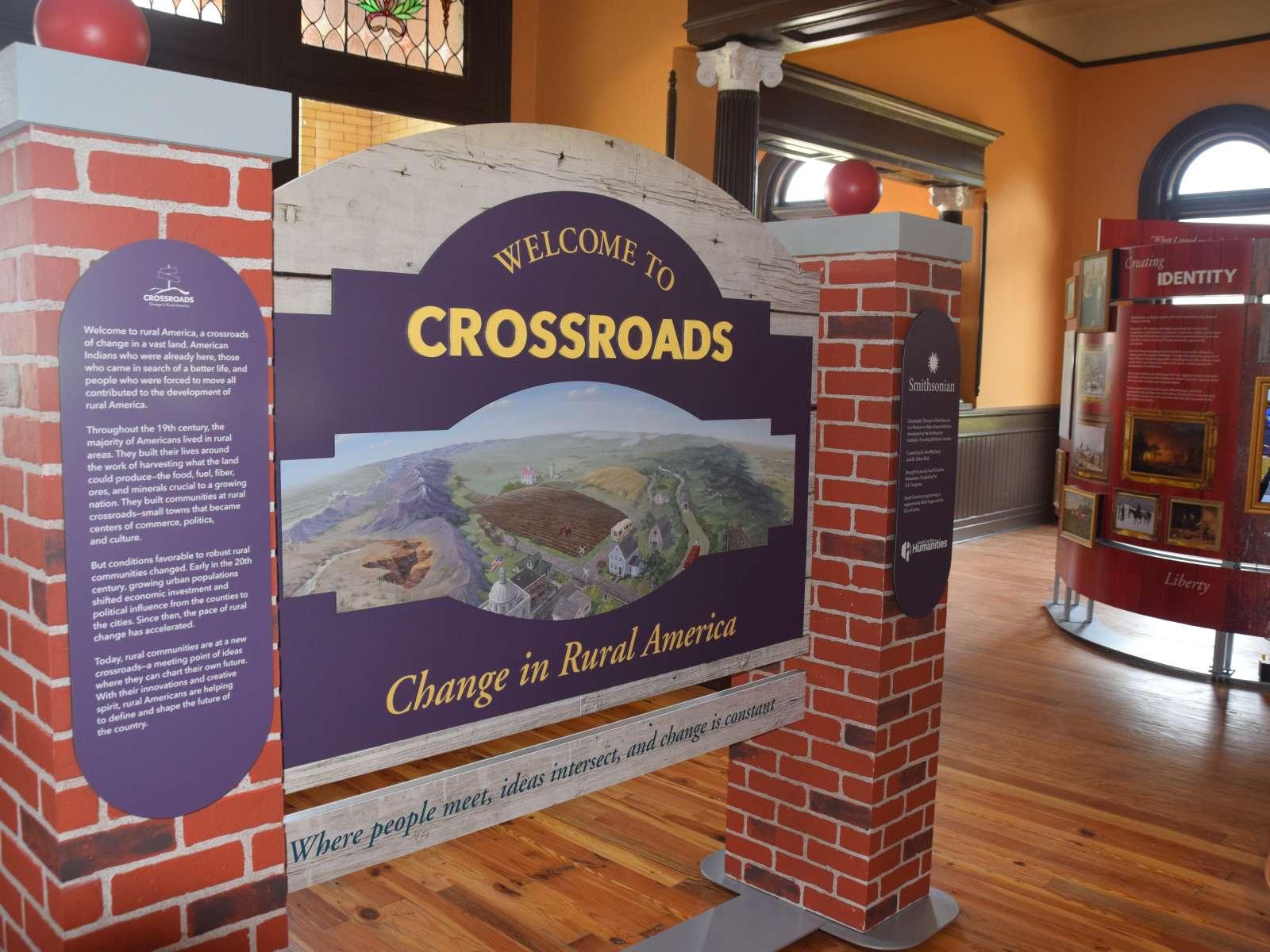Crossroads installation in Union, South Carolina in 2018