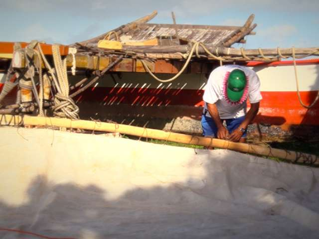 Outrigger canoe construction