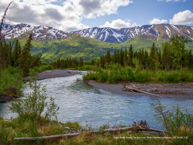Eagle River, Alaska, photo by Ron Lute. Flickr Creative Commons. Attribution Non-Commercial