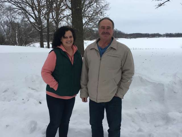 Gayle and Mike Dretch of Minnesota