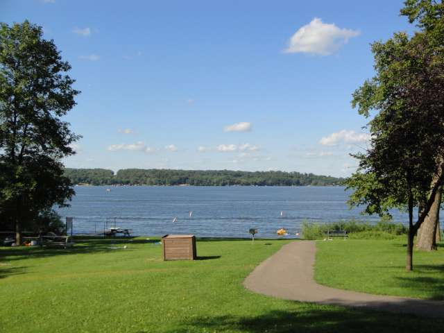 Lake Koronis Regional Park. Photo by Greg Gjerdingen. Flickr Creative Commons. Attribution license