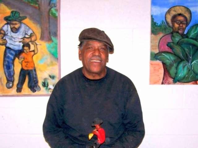 Artist Allen Johnson