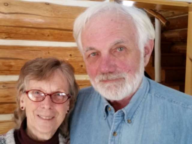 Joanne and John Rosberg in their Minnesota home.