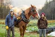 Kara and Jacob on their farm.
