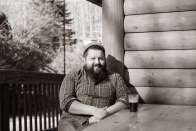Seth Sullivan at his restaurant The Cardinal.