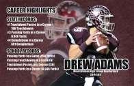 Drew Adams' record, Iowa