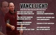 Vance Light's record