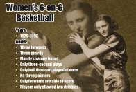 Women's 6-on-6 basketball rules